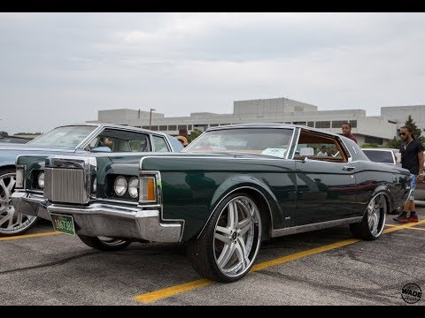 """Xtreme Kustoms Carshow : 1971 Lincoln Continental Mark III on 24"""" Wheels"""