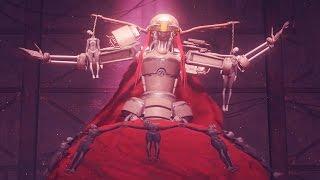 Nier Automata: Boss Fight #3 Opera Singer (1080p 60fps)