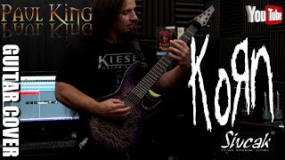 Video Korn - Here To Stay [ Guitar Cover ] By: Paul King