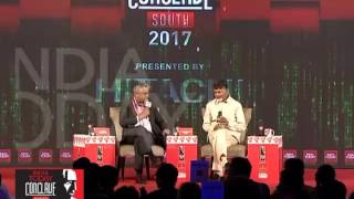 India Today Conclave South 2017 The Great Digital Leap Andhra Pradesh
