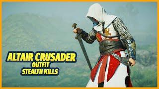 Altair Templar Crusader Outfit