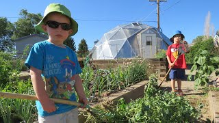 Community Garden in a Growing Dome