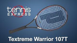 Ρακέτα τέννις Prince TeXtreme Warrior 107T video