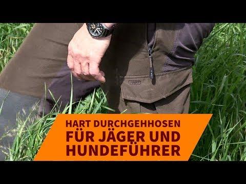 Jagdbekleidung: Jagd- und Durchgehhosen von HART in der Praxis
