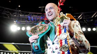 video: Inside the dressing room with Tyson Fury – a man born to be king of the world