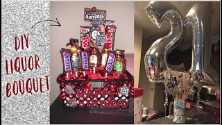 DIY Liquor Bouquet/Basket|Pintrest Hack|Gift For Significant Other|