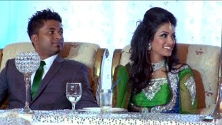 Bridesmaid Speech An Indian Wedding Reception @ Bombay Palace Mississauga Videography Photography