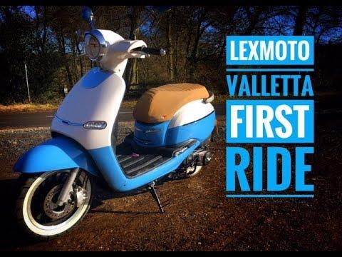 Lexmoto   Valletta 125   ZN125T-Y   Znen Scooters   125cc