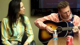 "Joey+Rory ""Heart of the Wood"" at KKNG Radio In Oklahoma City"
