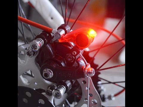 Стоп сигнал на велосипед с AliExpress