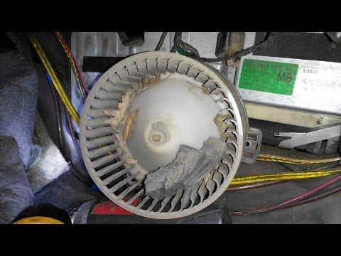 Чистим печку и кондиционер без полной разборки и снятия. Киа Спортейдж-1 Kia Sportage 1