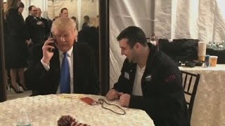 President Trump Gives $10G To Campaign Volunteer For Dad