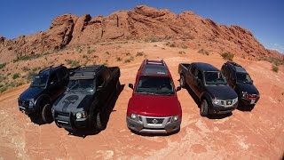 Logandale Dunes / Trails Nissan Trail ride Xterras and Frontiers