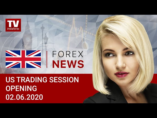 02.06.2020: Traders increasing short deals on USD (USDХ, DJIA, WTI, Brent, USD/CAD)