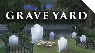 The Sims 4 | GRAVEYARD (cemetery) Build