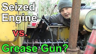 Can You Free a Seized Engine with a Grease Gun?