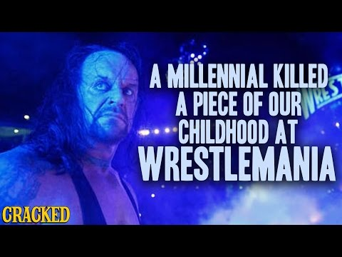 A Millennial Killed a Piece of Our Childhood at WWE's Wrestlemania