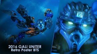 BIONICLE 2016 GALI UNITER Retro poster BTS