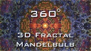 360° Caleidoscope Sirius - Mandelbulb 3D fractal 4K Ultra HD