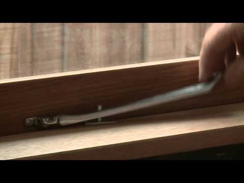 How To Install Casement Window Stays - DIY At Bunnings