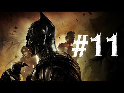 Injustice Gods Among Us Gameplay Walkthrough Part 11 - The Flash - Chapter 11