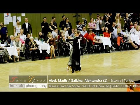 Dancemasters 2017 - Slow Waltz Standard - Madis Abel & Aleksandra