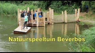 Opening Natuurspeeltuin Beverbos door de Kinderburgemeester van Nissewaard