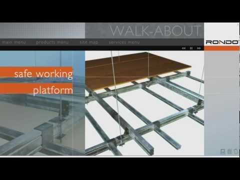 Rondo WALK-ABOUT™ Trafficable Ceiling System