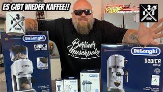 Es gibt wieder Kaffee im HQ I De`longhi Barista Bundle Unboxing und Test - 030 BBQ