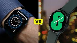 Apple Watch 7 vs Samsung Galaxy Watch 4! (Watch their reveals)