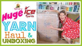 Huge Ice Yarns Haul & Review   33kgs Of Yarn Heaven!