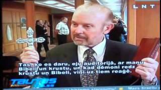 Bob Larson's TV Interview in Latvia