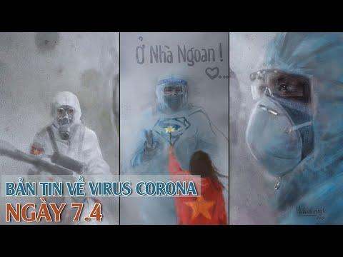 Tin tức dịch bệnh Covid-19 chiều ngày 07/4/2020