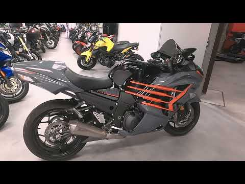 2018 Kawasaki Ninja ZX-14R ABS SE in West Allis, Wisconsin - Video 1