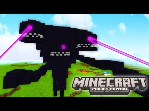 Minecraft WITHER STORM MOD! - GIANT MONSTERS, BOSSES, ITEMS, & MORE! - (Minecraft PE Mods)