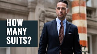 How Many Suits Do You REALLY Need? | Menswear & Mens Style Essentials