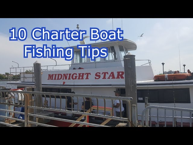 Top 10 Boat Fishing Tips - Party Boat Charter Fishing for Beginners