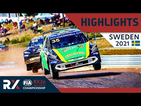 世界ラリークロス 第4戦スウェーデン(ホーリエス)2021年 RX2eクラスの予選Day1ハイライト動画