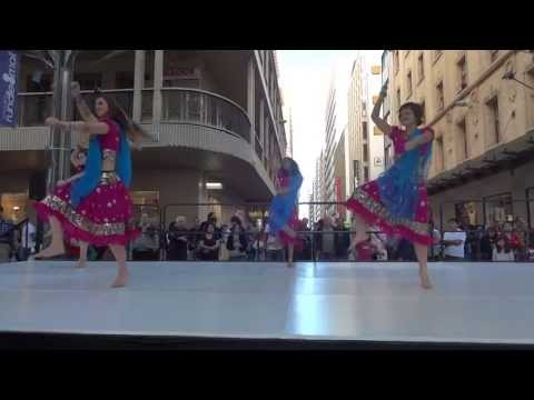 Fusion Beats Bollywood performance at Ausdance Dance Week Adelaide 2013 (видео)
