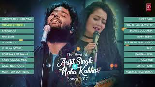 The Best Of Arijit Singh | Neha Kakkar Songs 2016-17 | Audio Jukebox | VOL 2 | Chetan majithia