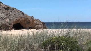 preview picture of video 'Praia das Furnas , Algarve'