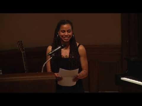Columbia University's 2015 Edward M. Kennedy Award Honors Playwright Suzan Lori-Parks