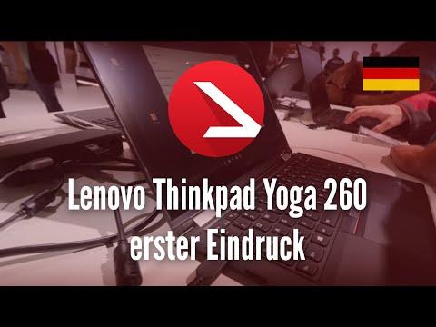 Lenovo Thinkpad Yoga 260 erster Eindruck [4K UHD]