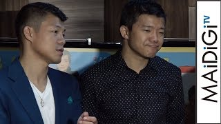 亀田大毅、映画出演も「1秒も出てない」映画「リングサイド・ストーリー」イベント会見1