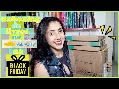 UNBOXING | Black Friday|  PROMOÇÃO  SUBMARINO | Leticia Ferfer | Livro Livro Meu