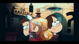 Gravity Falls Intro With Amphibia Theme Song