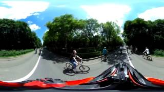 Велофест Пятигорск панорамное 360 видео  #2