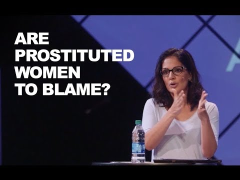 Naomi Zacharias: Why do people blame prostituted women?