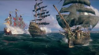 Skull and Bones The Hunting Grounds Gameplay Trailer - E3 2018 - dooclip.me