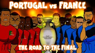Download Video Portugal vs France: THE ROAD TO THE FINAL (Euro 2016 preview montage) MP3 3GP MP4